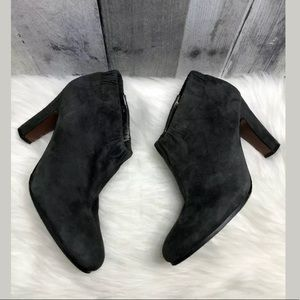 Sam Edelman Simone Gray Ankle Scrunchie Booties